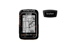 CICLOCOMPUTADOR GPS BRYTON RIDER 450 H
