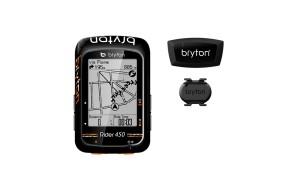 CICLOCOMPUTADOR GPS BRYTON RIDER 450 T