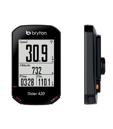 CICLOCOMPUTADOR GPS BRYTON RIDER 420 E