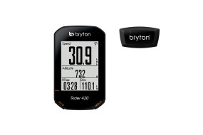 CICLOCOMPUTADOR GPS BRYTON RIDER 420 H