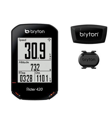 CICLOCOMPUTADOR GPS BRYTON RIDER 420 T