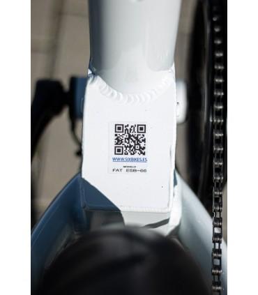 E-BIKE PLEGABLE SIX BIKES FAT SPORT ESB-66 2020 BLANCO
