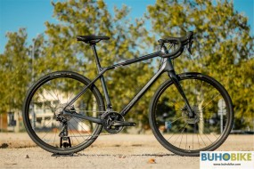 BICICLETA GRAVEL MERIDA SILEX 4000 2021 ANT-NEG