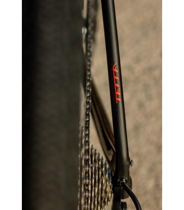 BICICLETA GRAVEL ORBEA TERRA M20 1X 2021 NEG-ROJ