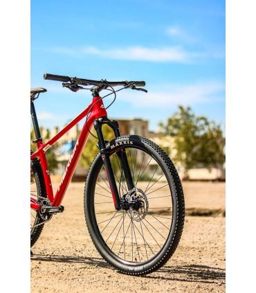 BICICLETA MONTAÑA XC MERIDA BIG NINE 500 2021 ROJ-BLA