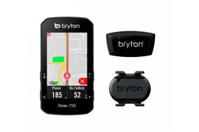 CICLOCOMPUTADOR GPS BRYTON RIDER 750 T