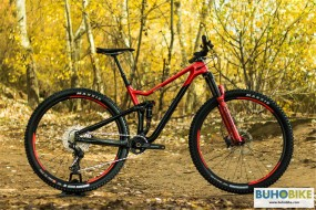 BICICLETA DOBLE TRAIL MERIDA ONE TWENTY 3000 2021 ROJ-NEG