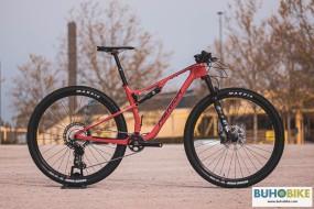 BICICLETA RALLY MERIDA NINETY SIX RC XT 2021 ROJ-NEG