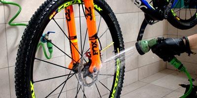 Como debo de lavar mi bicicleta