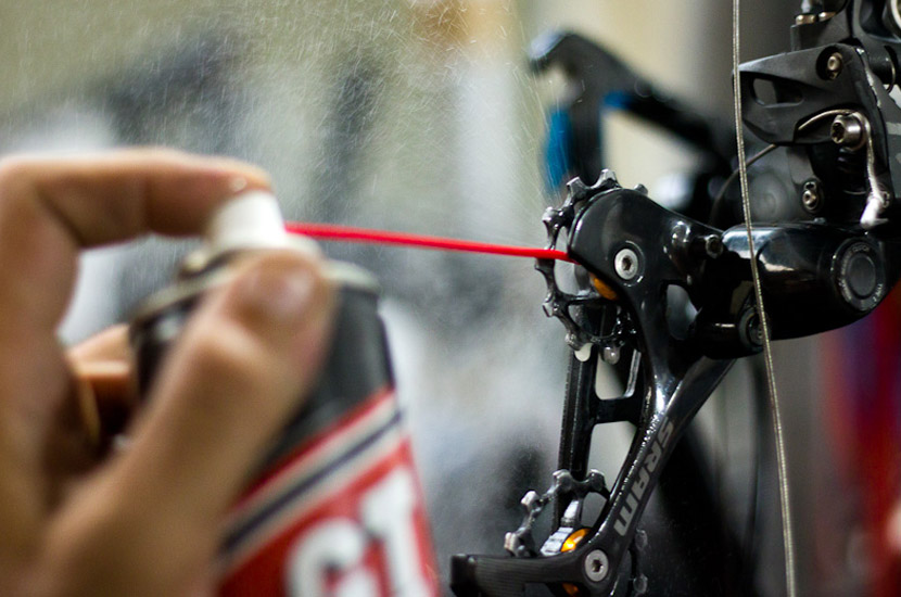 Engrase de tu bicicleta