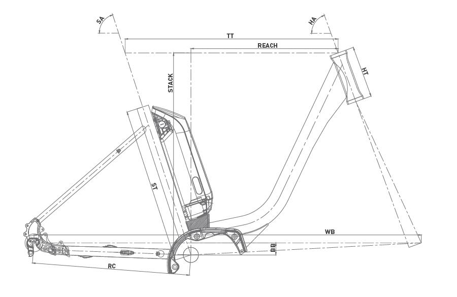 Geometría CONOR E5 LADY 26 2020