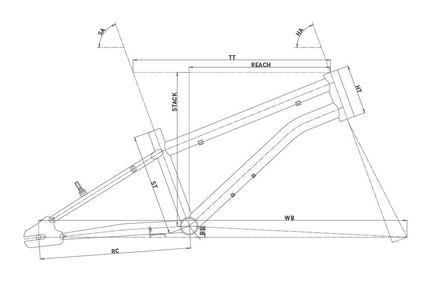 Geometría CONOR ROCKET 18 2020