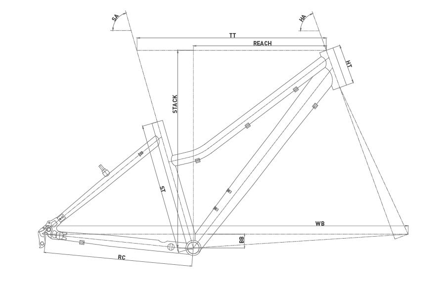 Geometría CONOR 5200 26 LADY 2020