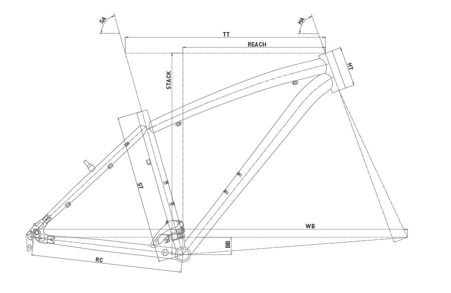Geometría CONOR 5400 27,5 2020