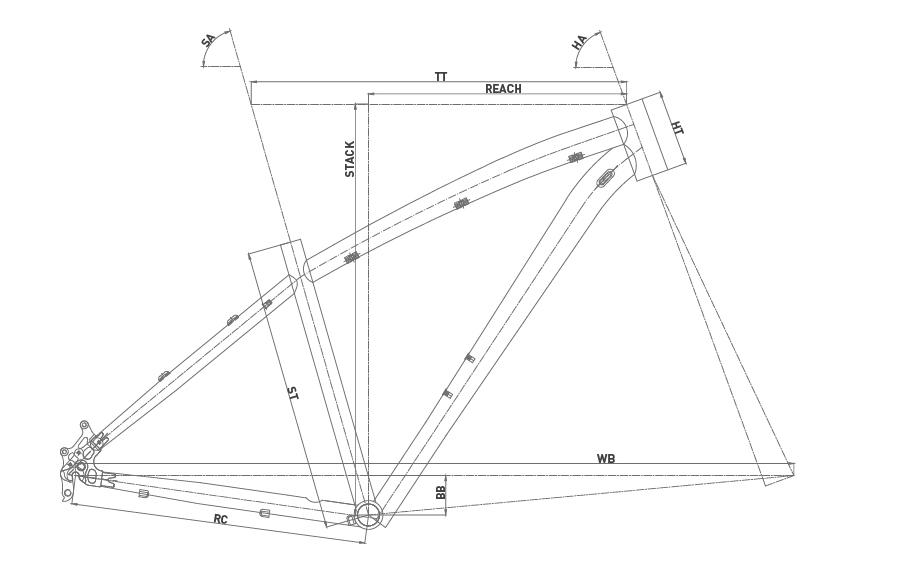 Geometría CONOR 6000 Disc 27,5 2020