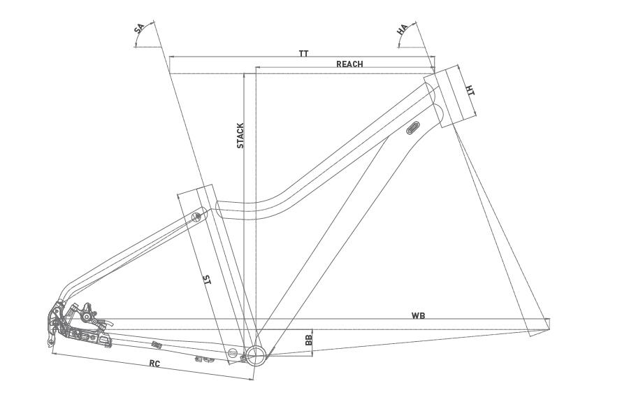 Geometría CONOR 7200 27,5 LADY 2020