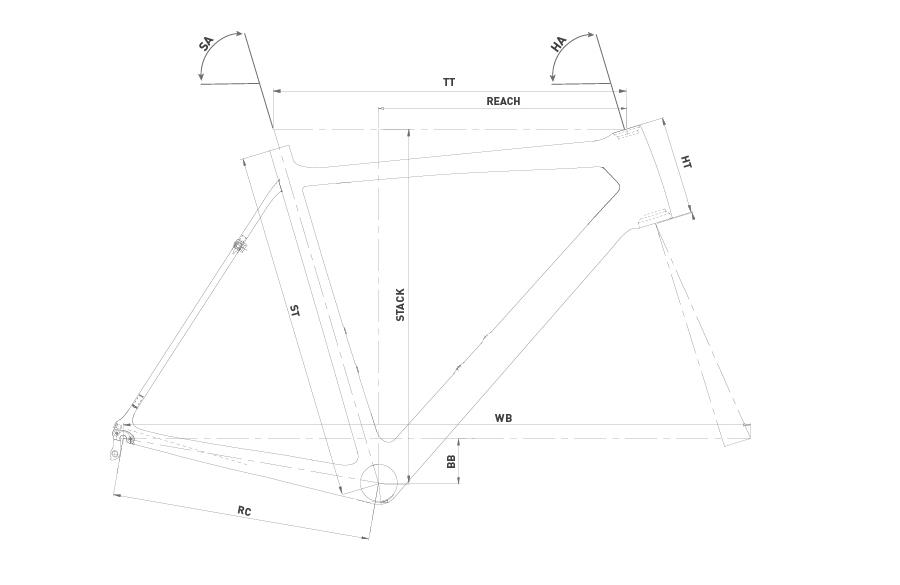Geometría WRC RUSH DISC ULTEGRA 2020