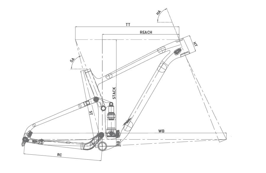 Geometría WRC THUNDER XT 29 2020