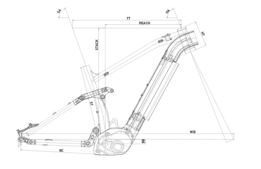 Geometría WRC E9 FS 27,5+ 2020