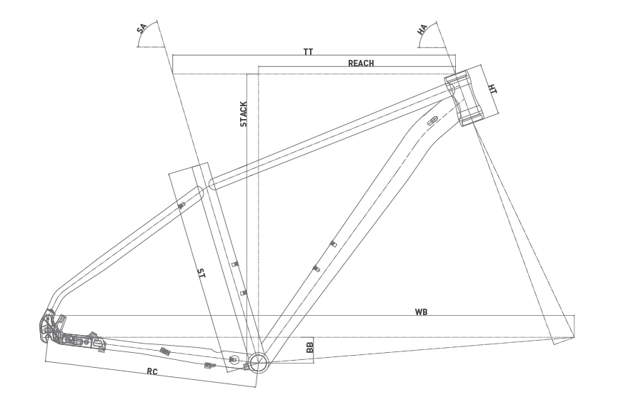 Geometría WRC COMP SX 29 2020