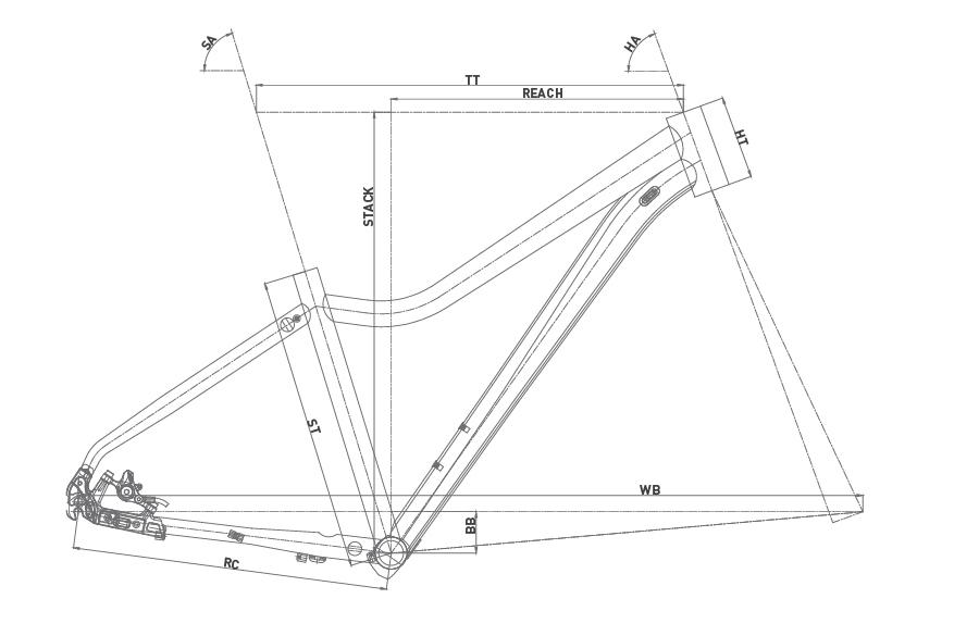 Geometría WRC COMP SX LADY 27,5 2020