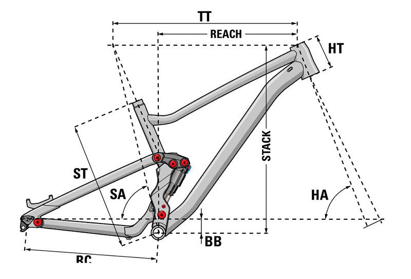 Bicicleta de trail Lapierre Zesty TR 4.9 2020