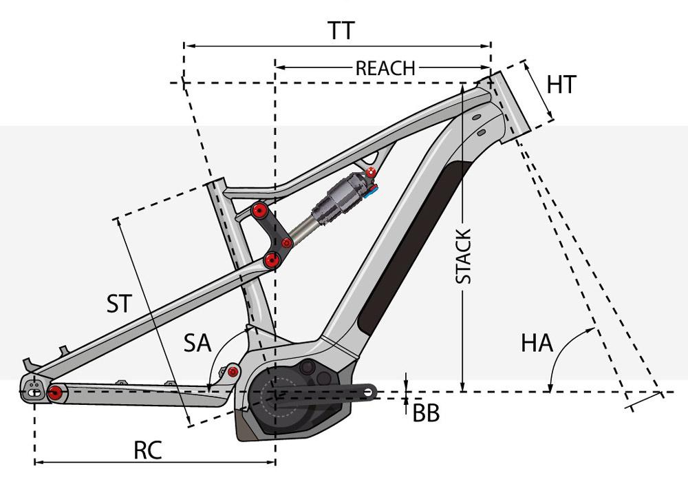 Bicicleta eMTB trail Overvolt TR 4.5 W 2021