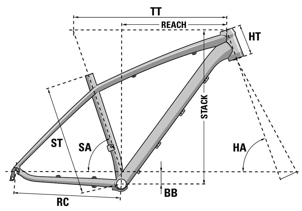 Bicicleta XC de montaña Prorace 3.9 W 2021