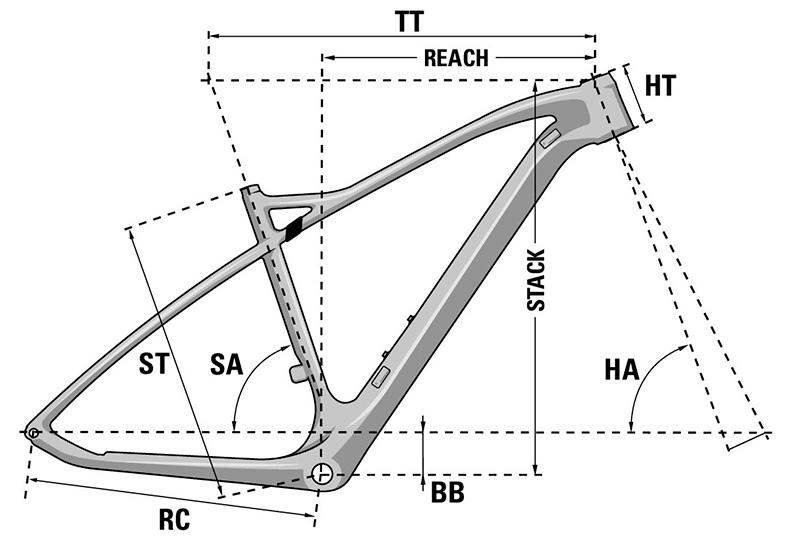 Bicicleta de montaña Prorace SAT 7.9 CF 2021