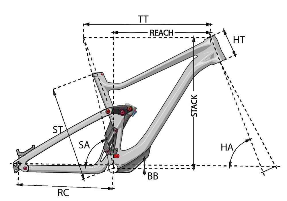 Bicicleta MTB de enduro Spicy 6.9 CF 2021