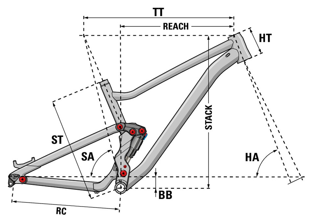 Bicicleta de montaña Zesty TR 5.9 2021