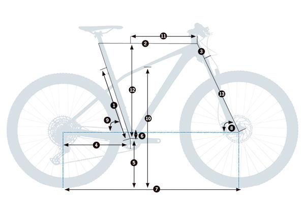 Bicicleta de montaña rígida Orbea Alma H50 2021