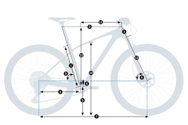 Bicicleta de montaña rígida Orbea Alma M-TEAM 2021