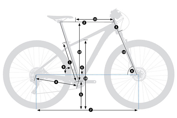 Bicicleta de montaña rígida Orbea MX 27 20 2021