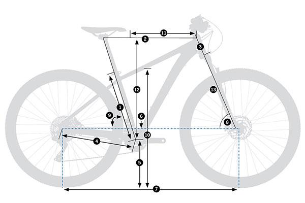 Bicicleta de montaña rígida Orbea MX 27 50 2021