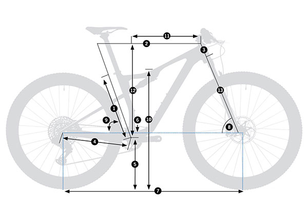 Bicicleta doble XC Orbea Oiz M-PRO TR 2021
