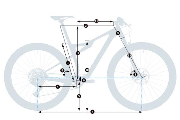 Bicicleta XC doble Orbea Oiz M10 TR 29 2021