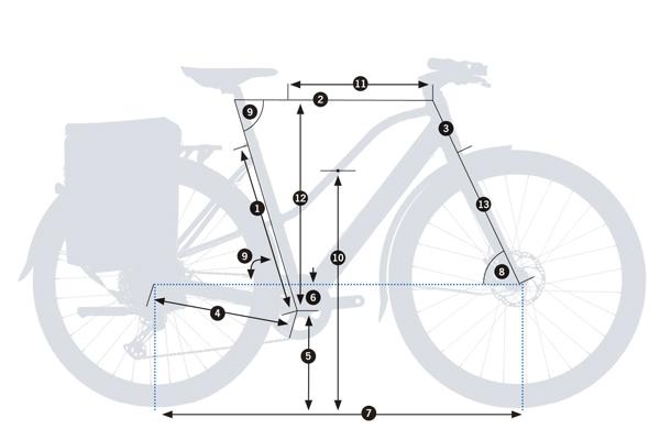 Bicicleta eUrban Orbea Vibe MID H10 MUD 2021