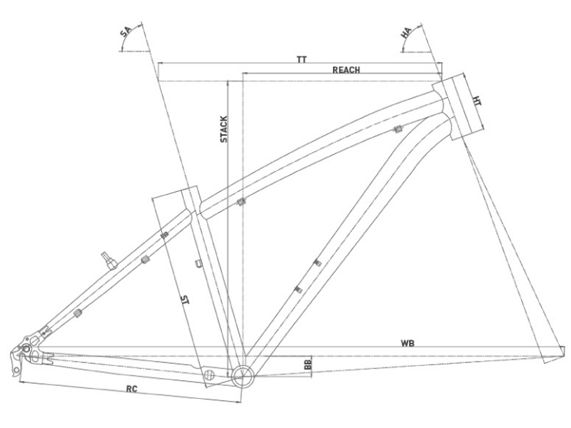 Bicicleta rígida de montaña Conor 5200 26 2021