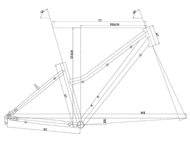 Bicicleta de montaña Conor 5200 Lady 26 2021