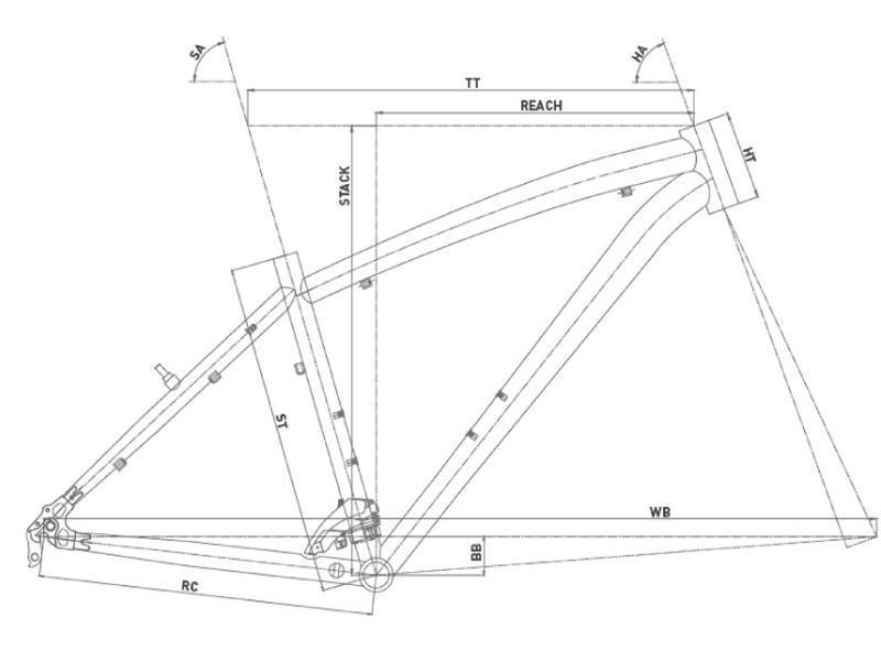 Bicicleta de montaña Conor 5400 27,5 2021