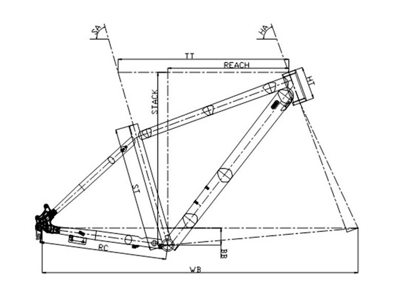 Bicicleta rígida de montaña Conor 6700 29 2021