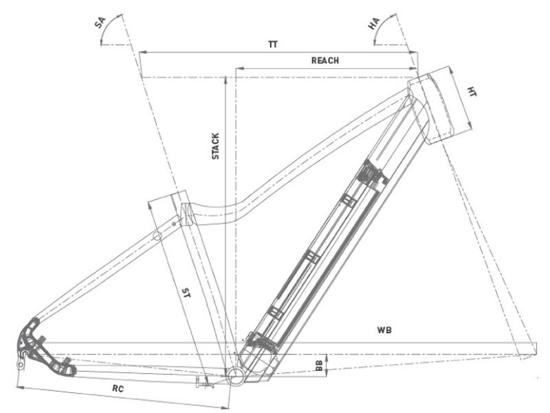 Bicicleta eMTB rígida Conor Java 29 2021
